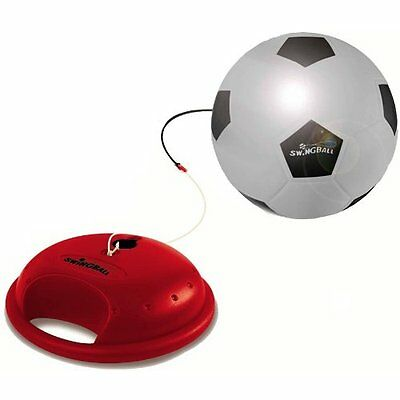 Reflex Soccer Swing Ball Play Game Recoil Action Football Sport Portable New
