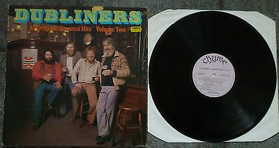 The Dubliners 20 Original Greatest Hits Volume Two Lp Traditional Irish Folk
