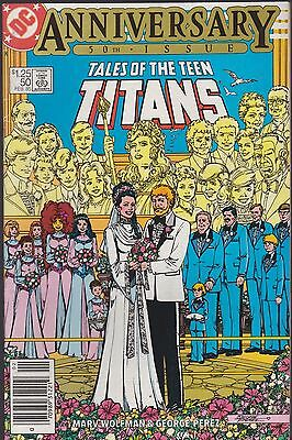 Tales Of The Teen Titans #50 Dc 1985 Fn 6.0