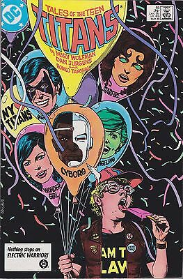 Tales Of The Teen Titans #65 Dc 1986