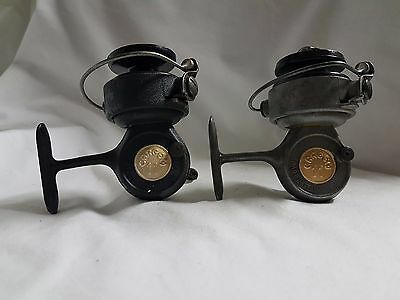 Reels Cargem 11 made ITALY REEL MOULINET MULINELLO VINTAGE OLD RARE (2 PIECES)