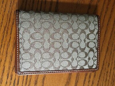 Coach Cover Wallet For Passport