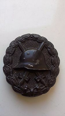 Germany Original ww1 magnetic black wound badge medal