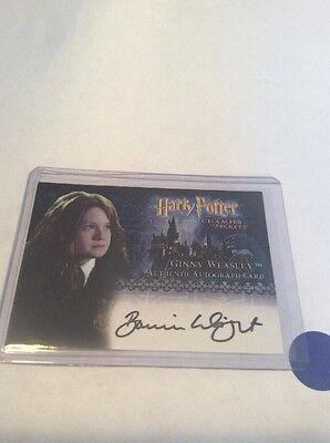 2006 Artbox Harry Potter COS Autograph for Wright