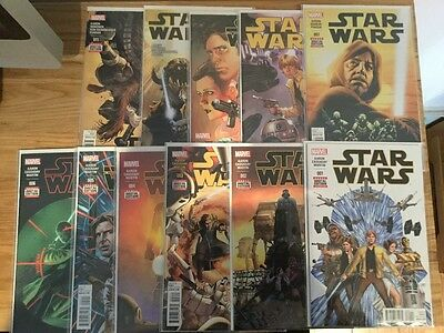 Star Wars Marvel Comics 1-22 complete run in nm condition  (first prints)