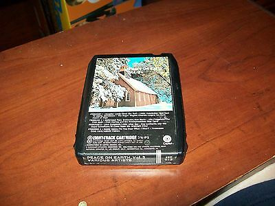 Peace On Earth Vol.2 Various Artists  8 Track Tape