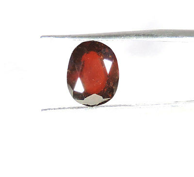 4.00Cts. DAZZLING RAREST NATURAL TOP LUSTER AXINITE OVAL 8x10MM CUT GEMSTONE