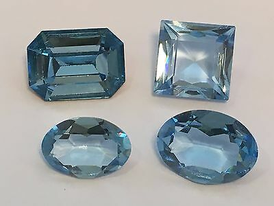 Perfect Blue Synthetic Aquamarine **Costume Jewellery**Loose Gemstone**