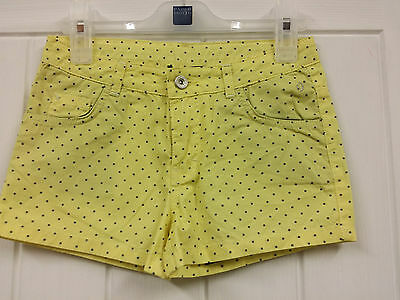 Papermoon ShortsYellow  For 10 Years Kid Girl 140 cm RRP £39 Now £ 14.99