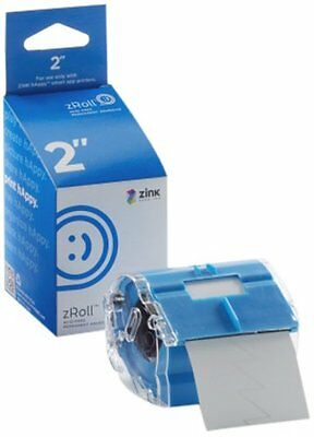 ZINK 2 inch zRoll - A 2 inch wide roll of full color, ink-free ZINK Paper