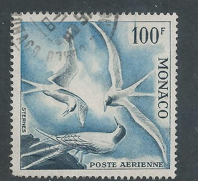 Monaco - 1955 100 franc Airmail Issue - Used