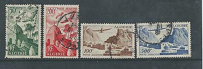 Algeria - 1949 Airmail issue - Used Set of four