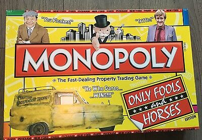 Rare Only Fools And Horses Limited Edition Monopoly Board Game, Complete Good