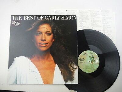 Carly Simon,The Best Of Carly Simon,Rare American quadraphonic pressing,LP