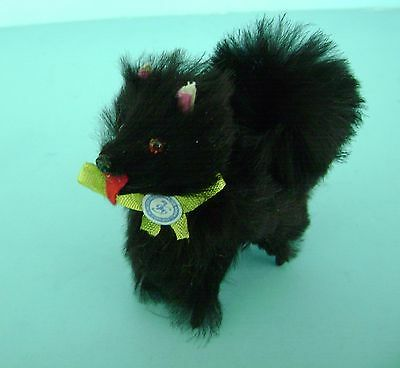 Vintage Genuine Fur Dog Spitz for Madame Alexander Cissy Elise Doll W. Germany