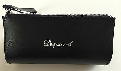 DSQUARED Faux Leather Zipped Glasses Purse