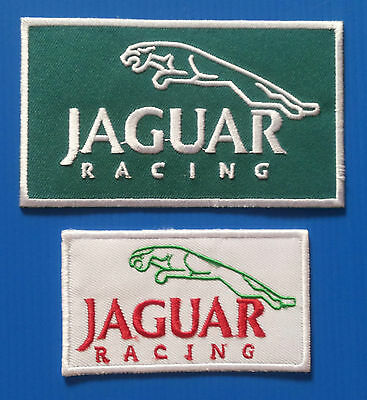 2 Lot JAGUAR RACING Embrodered Iron Or Sewn Patches W/ Free Shipping