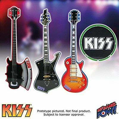 Coasters Kiss Musical Instrument Shaped Coasters Set of 4