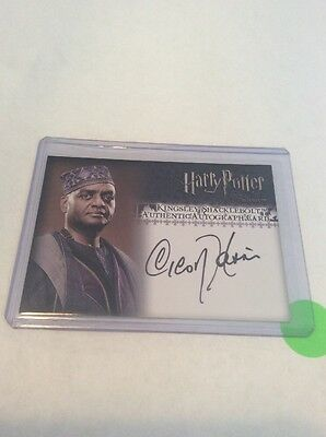 2007 Artbox Harry Potter TOOTP Autograph for Harris