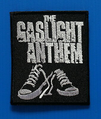 GASLIGHT ANTHEM PUNK Band Embrodered Iron Or Sewn On 3 Inch Patch Free Ship
