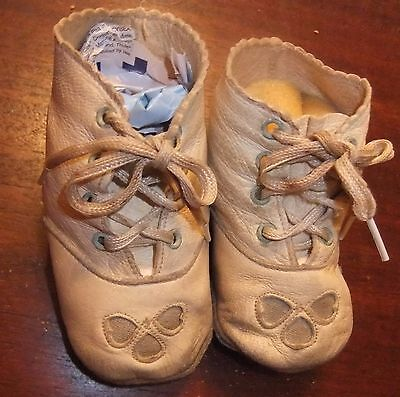 Antique, Vintage Child's Leather Shoes, Great for Dolls