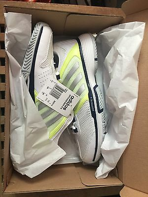 Adidas Barricade Tennis Trainers Size 8 White