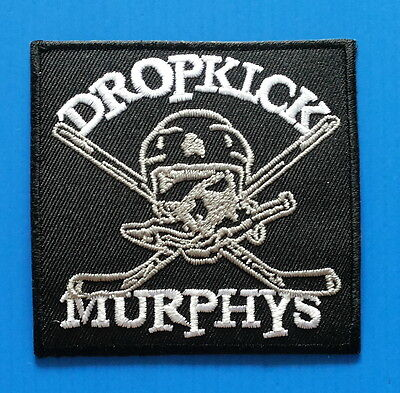 DROPKICK MURPHYS PUNK ROCK  3.Inch Embrodered Iron Or Sewn On Patch Free Ship