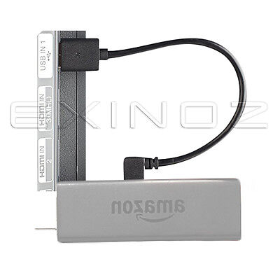 EXINOZ Mini Fire TV USB Cable - Power Fire Stick from TV USB Port Clutter-free