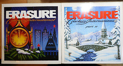 "Erasure Crackers International 1&11 1988 UK 12"" Singles Excellent Sleeves /Audio"