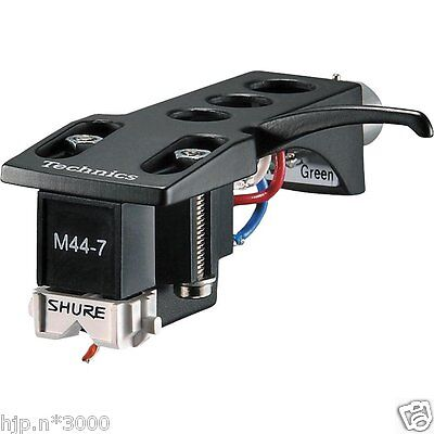 SHURE Cartridge and Head Shell M44-7H from Japan Free Shipping  w/ Tracking