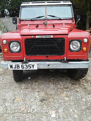 LAND ROVER SERIES 3 V8 STATION WAGON 1983 STAGE 1 reduced for quick sale