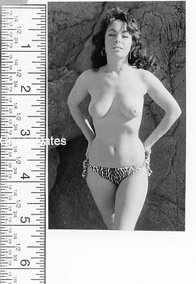 Cds-0060 Vintage 1960's B/w Photo Sweet Solo Art Posed Nude See Scan For Size
