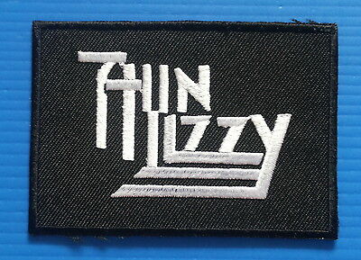 THIN LIZZY  Embrodered Iron Or Sewn On Patch Free Ship