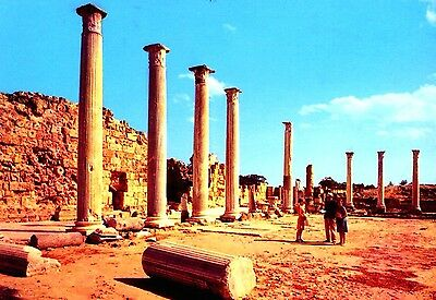 Cyprus Ancient Salamis Postcard as picture *Combined Shipping available* CY22