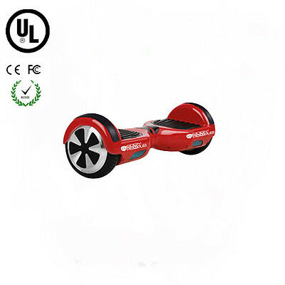 Easy People Two Wheel Electric Motorized Balancing Scooter Hoover Board Red