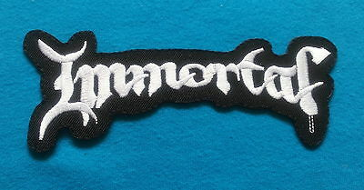 IMMORTAL POLISH BLACK METAL BAND Embrodered Iron Or Sewn On Patch Free Ship