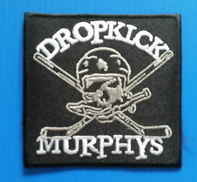 DROPKICK MURPHYS Punk 3 X 3 Inch Embrdered Iron Or Sewn On Patch Free Ship