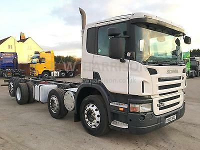 Scania P340 8X2 Rear Lift And Steer Truck/lorry
