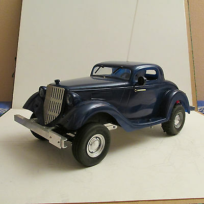 Prototype Ford 1934 Hot Rod 1/10 Rc Vintage Metal Scale Model