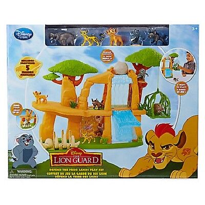 DisneyStore Authentic The Lion Guard: Defend The Pride Lands Deluxe Play Set