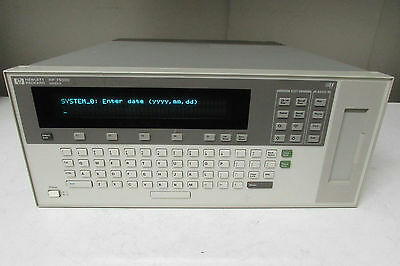 Agilent HP E1301A VXI Mainframe, 7-Slot w/ E1339A 72 Ch Digital Output Relay