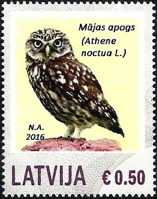 Latvia 2016 - Personalized stamp - Little Owl