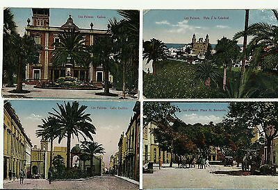 4 Postcards Of Las Palmas