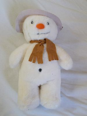 The Snowman original Golden Bear soft toy