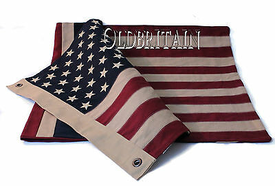 American & Union Jack Double Sided Flag | A different flag on each side | Cotton