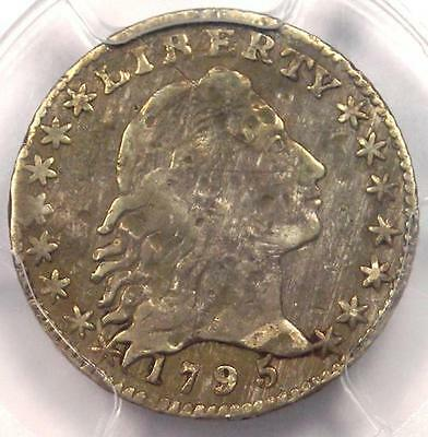 1795 Flowing Hair Half Dime H10C - PCGS Fine Details - Rare Certified Coin