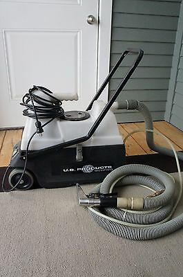 US Products Triple-Play spotter carpet extractor, car detailing cleaning machine