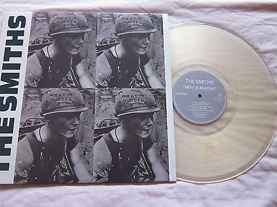 The Smiths Meat Is Murder Clear Vinyl RP LP New Unplayed