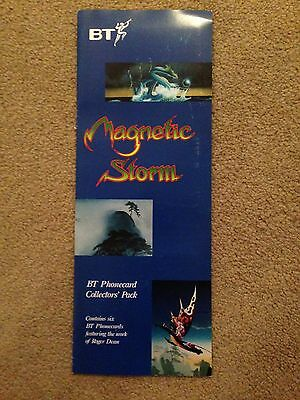 Magnetic Storm BT Phonecard Pack