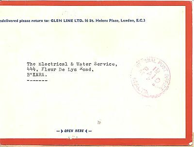 MALTA GENERAL POST OFFICE POSTAGE PAID  1d 1966,   .